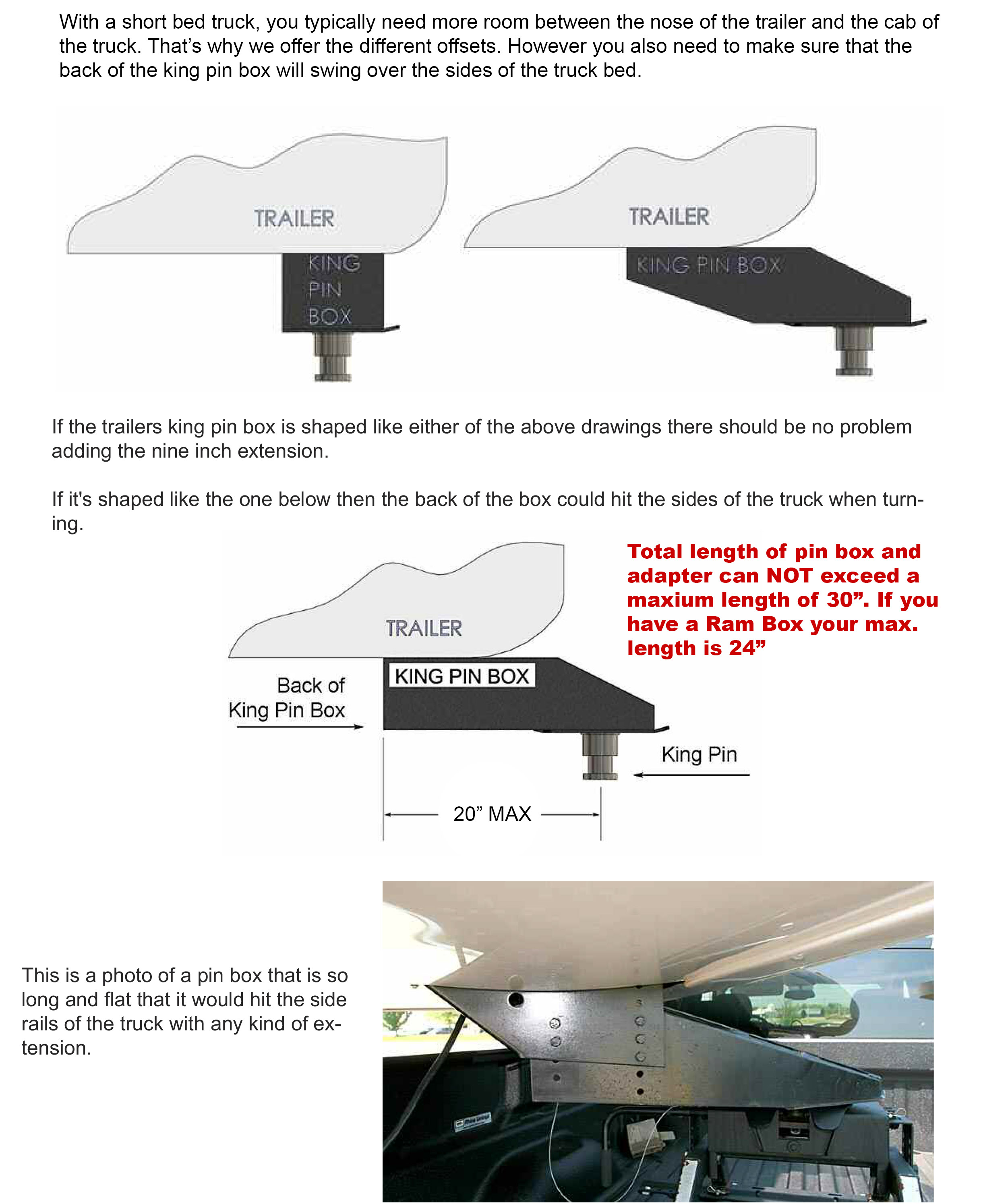 Popup hitch rv33 5th wheel to gooseneck adapter ebay for Rv height